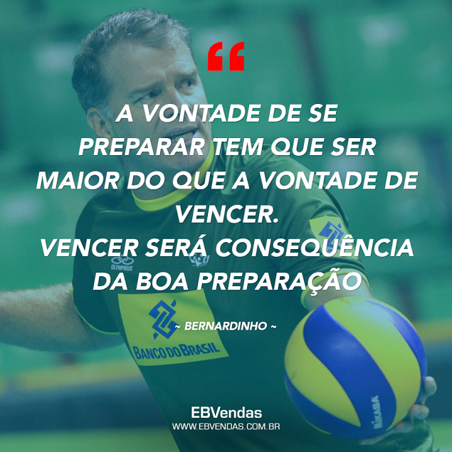 frase do bernardinho