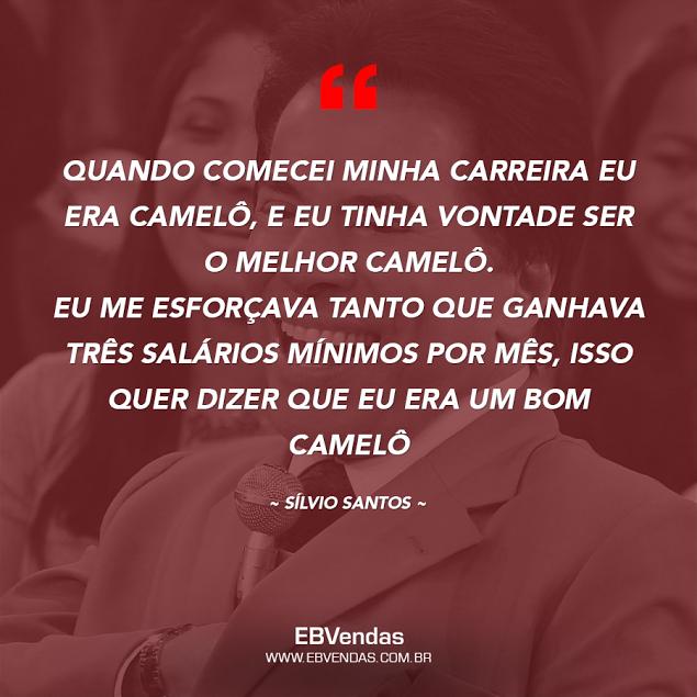 Frase do Sílvio Santos