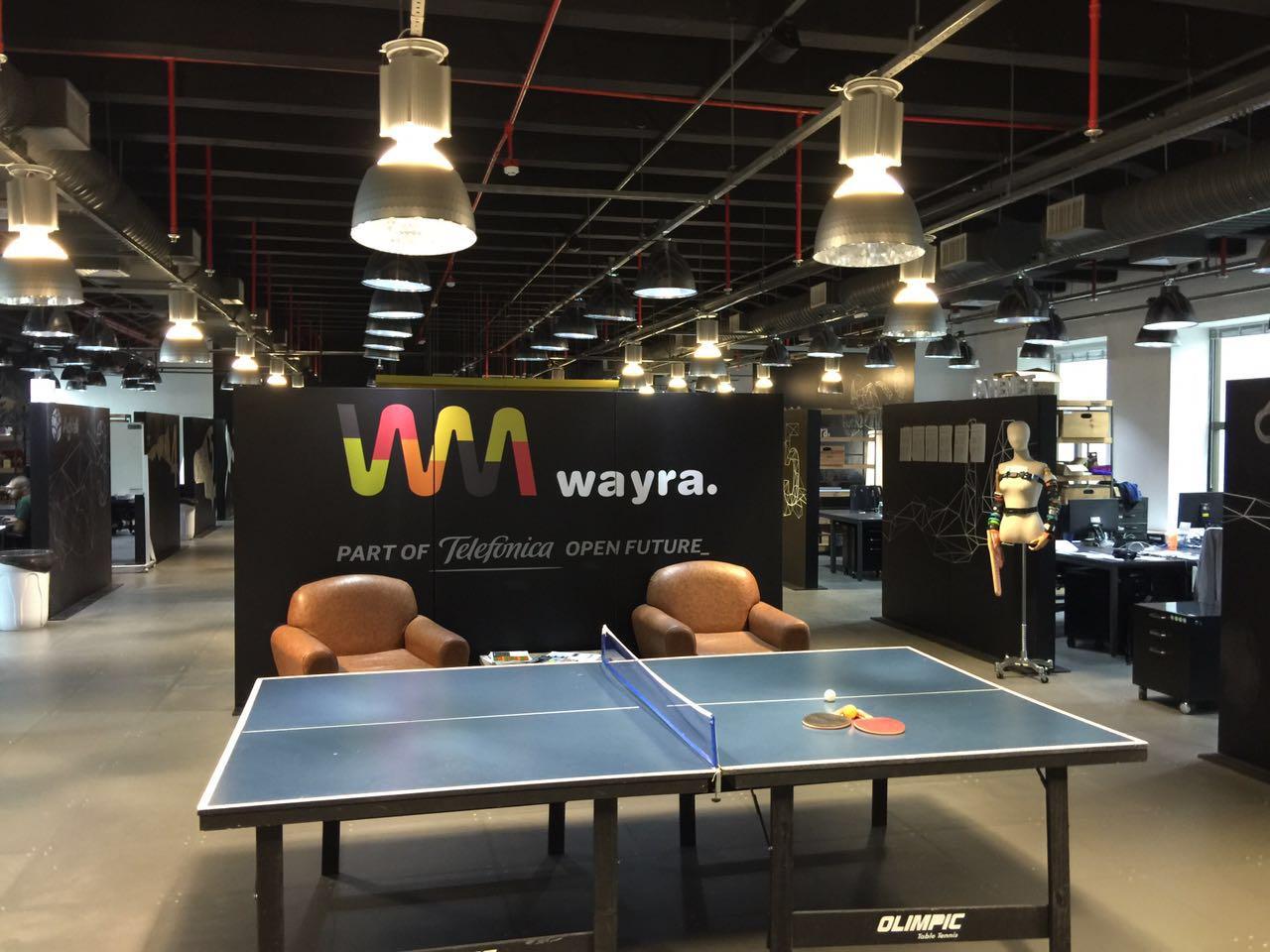 escritório da Wayra em São Paulo