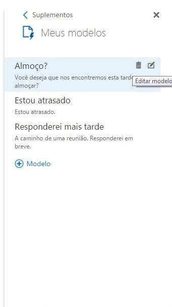 passo 1 como editar modelo de e-mail no outlook