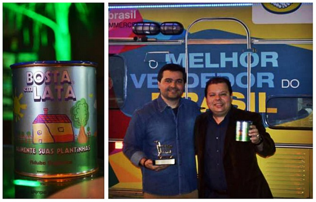 melhor vendedor do Brasil vende bosta em lata