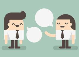 executivos conversando