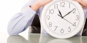 Administração do tempo em vendas